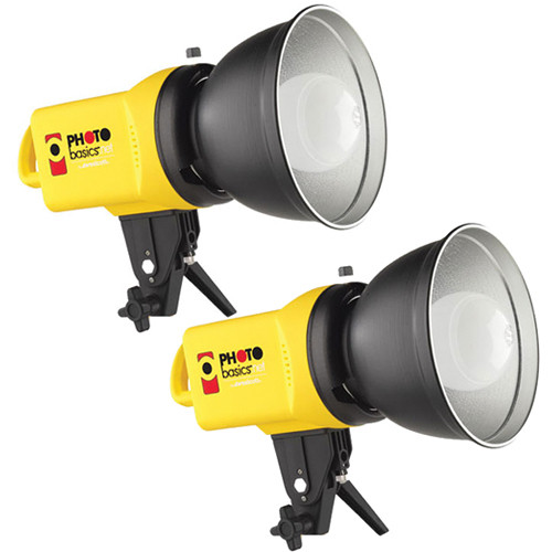 Westcott PB500 Photo Basics 500W Flood Light Kit - 120VAC (Yellow)