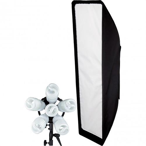 """Westcott Spiderlite TD6 Daylight 12 x 36"""" Stripbank Kit (120V)"""