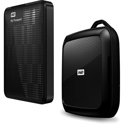WD 1TB My Passport USB 3.0 Hard Drive Kit with Case