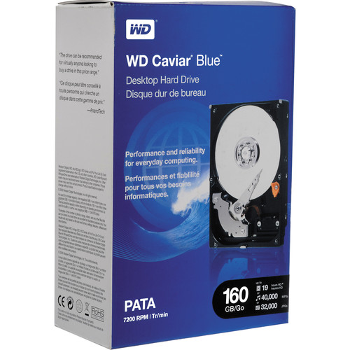 WD 160GB ATA-100 Internal Hard Drive for Desktops - 7200rpm