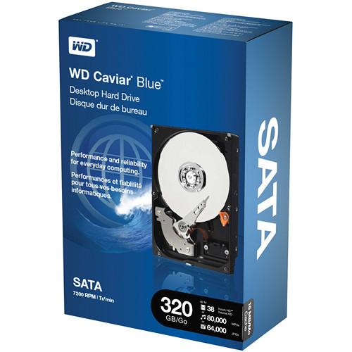 """WD 320GB WD Caviar Blue SATA 3.5"""" Hard Drive"""