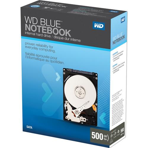 "WD 500GB WD Scorpio Blue SATA 2.5"" Hard Drive"