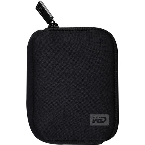 WD Neoprene Carrying Case for My Passport Portable Drives (Black)