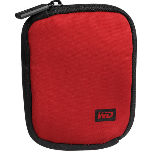 WD My Passport Carrying Case (Red)