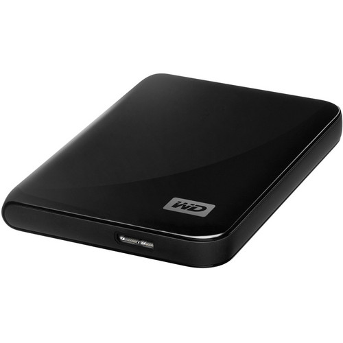 WD My Passport Essential 500GB Portable Hard Drive (Black)