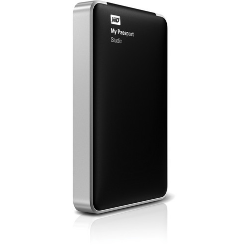 WD 500GB My Passport Studio Portable Hard Drive for Mac