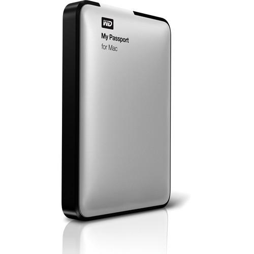 WD 500GB My Passport USB 2.0 Portable Hard Drive for Mac