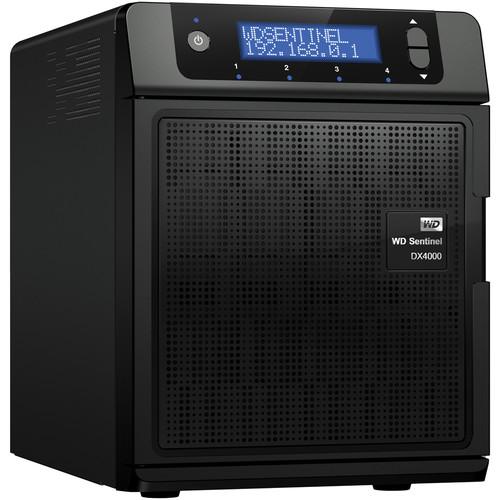 WD 4TB Sentinel DX4000 Small Office Storage Server