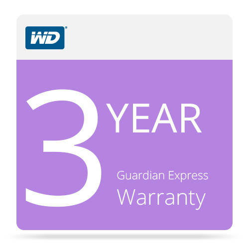 WD 3-Year Guardian Express Warranty For WD Sentinel DX4000