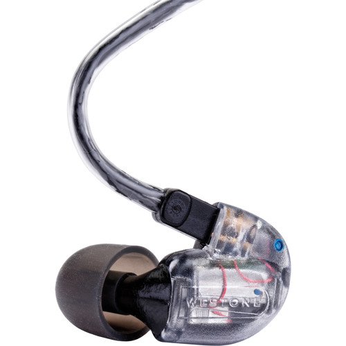 Westone UM3X 3-Way Universal Fit In-Ear Monitors with Removable Cable