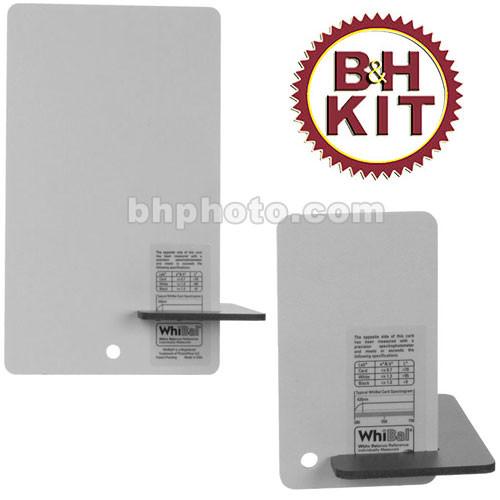 WhiBal G6 Combo Pocket/Studio White Balance Gray Card Kit