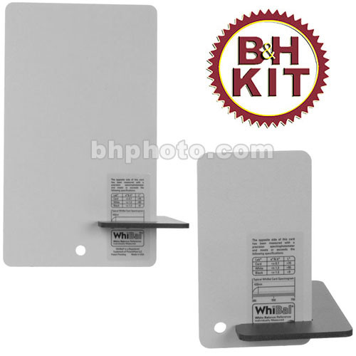 WhiBal G6 Combo Pocket/Studio Gray Card Kit