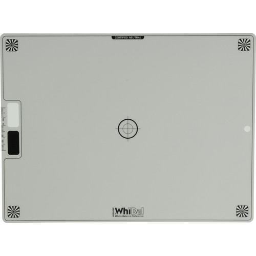 """WhiBal G7 White Balance Reference Gray Card (7.5x10"""")"""