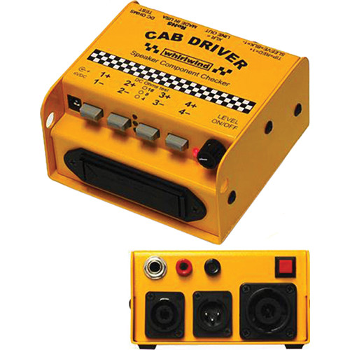 Whirlwind CAB DRIVER Speaker Component Checker