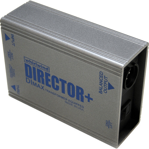 Whirlwind Director Plus - Direct Box