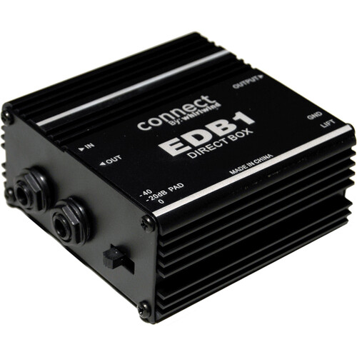 Whirlwind EDB1 - Single Channel Economy Direct Box
