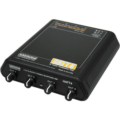 Whirlwind HATT4 4-Channel Headphone Amplifier