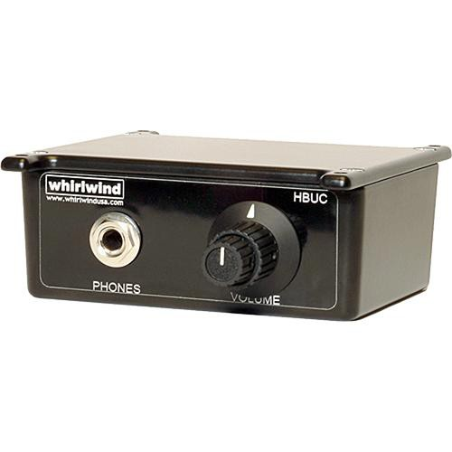 Whirlwind HBUC Under-Counter Headphone Amplifier and Control Box
