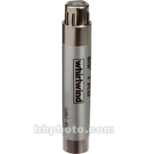 Whirlwind IMPAD10 - In-Line XLR Barrel 10 dB Pad