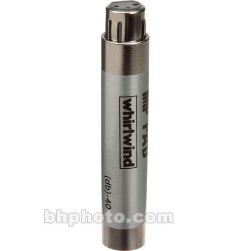 Whirlwind IMPAD20 - In-Line XLR Barrel 20 dB Pad