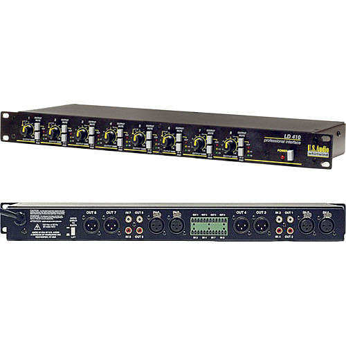 Whirlwind LD410 Audio Line Driver & Level Matcher