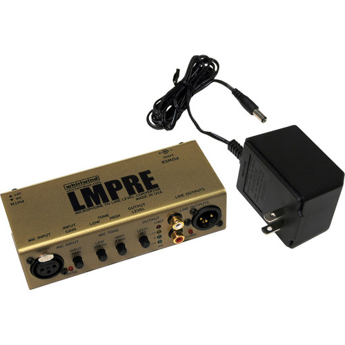 Whirlwind LMPRE Microphone Preamplifier