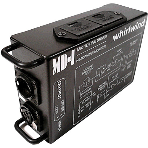 Whirlwind MD1 - Single Channel Microphone Preamp