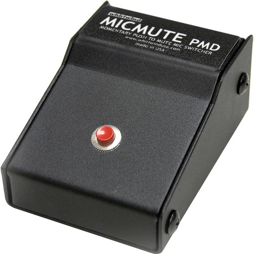 Whirlwind Micmute PMD Push-to-Mute Switch (Desktop)