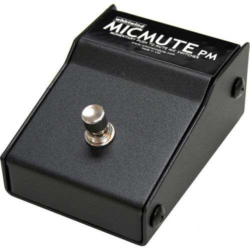 Whirlwind Micmute PM Push-to-Mute Switch (Pedal)