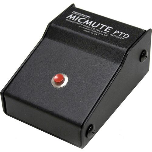 Whirlwind Micmute PTD Push-to-Talk Switch (Desktop)