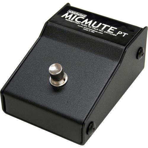 Whirlwind Micmute PT Push-to-Talk Switch (Pedal)