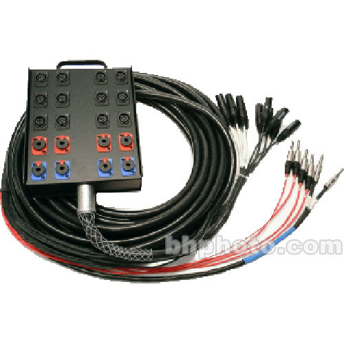Whirlwind Medusa Power Series 12 Channel Snake Cable - 100'