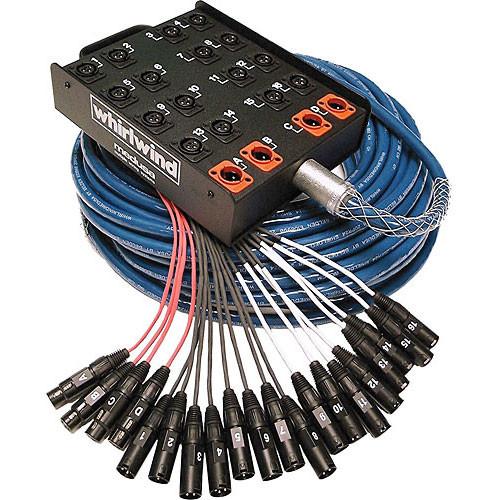 Whirlwind MMS-32-10-SB-100 Medusa Standard Series Audio Snake