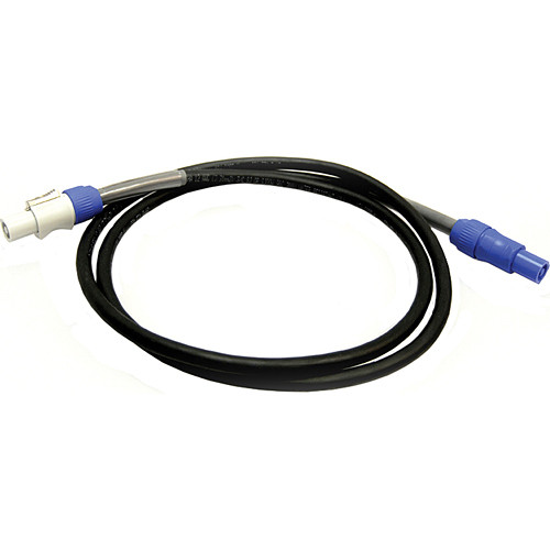 Whirlwind Powercon Inlet to Powercon Outlet Cable - 15'