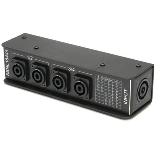 Whirlwind SBNL18444 Speakon Splitter Box