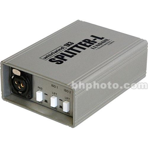 Whirlwind SP1X3LUNT Whirlwind Mic Splitter-L w/Lundahl Transformer