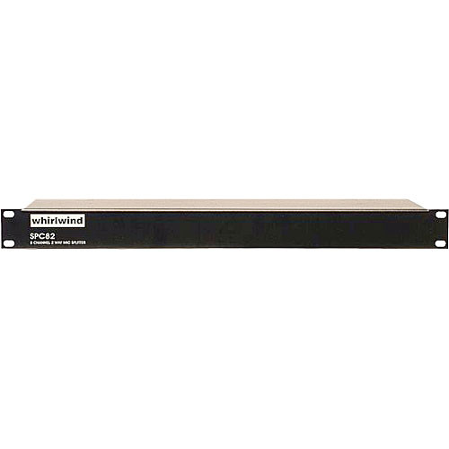 Whirlwind SPC82P - 8-Channel Mic Splitter with Direct and Isolated Outputs