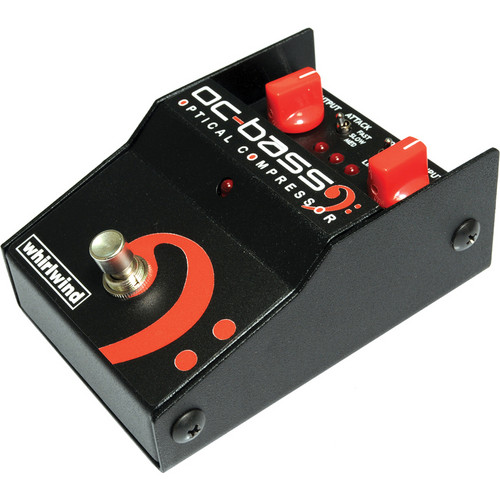 Whirlwind OC BASS Optical Compressor Foot Pedal