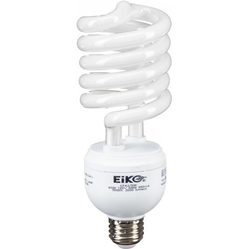 Eiko Spiral Fluorescent Lamp 40W/120V 5000K E26 Base