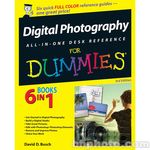 Wiley Publications Book: Digital Photography 9780470037430 B&H