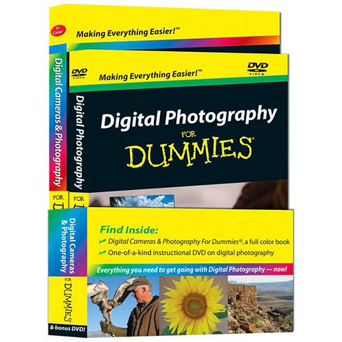 Wiley Publications Book/DVD: Digital Photography For Dummies by Barbara Obermeier, Mark Justice Hinton