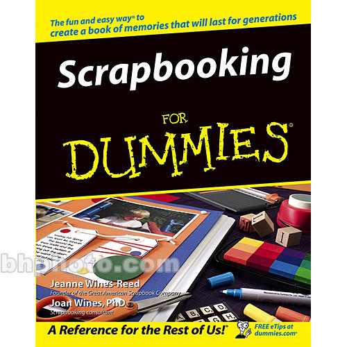 Wiley Publications Book: Scrapbooking For Dummies