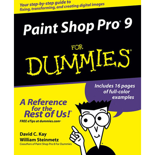 Wiley Publications Book: Paint Shop Pro 9 For Dummies by David C. Kay and William Steinmetz