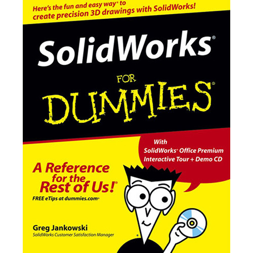 Wiley Publications Book/CD: SolidWorks For Dummies