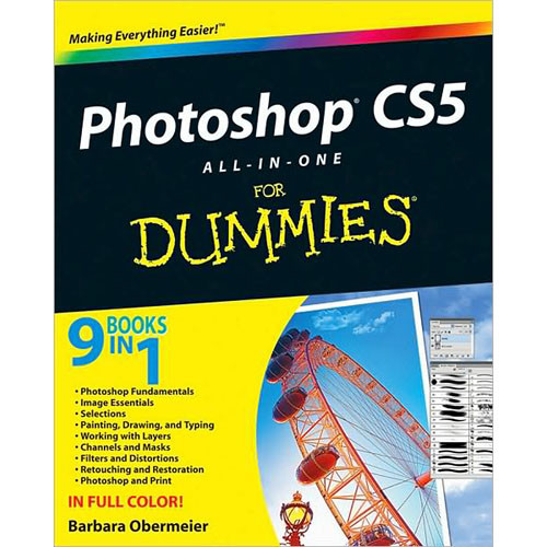 Wiley Publications Book: Photoshop CS5 All-in-One For Dummies by Barbara Obermeier