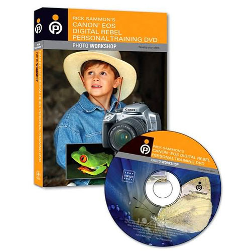Wiley Publications DVD: Rick Sammon's Canon EOS Digital Rebel Personal Training Photo Workshop