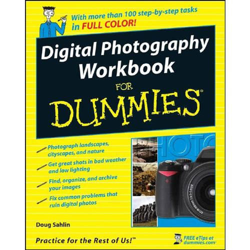 Wiley Publications Book: Digital Photography Workbook For Dummies by Doug Sahlin