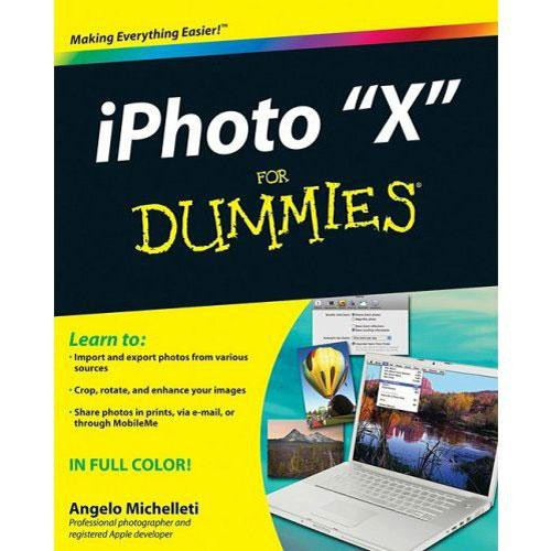 Wiley Publications iPhoto X for Dummies