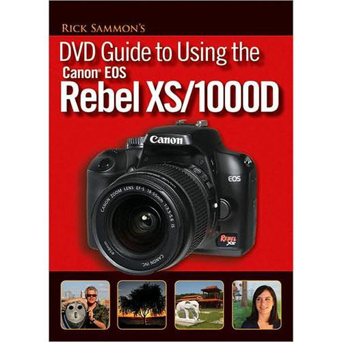 Wiley Publications DVD: Rick Sammon's DVD Guide to Using the Canon EOS Rebel XS/1000D by Rick Sammon