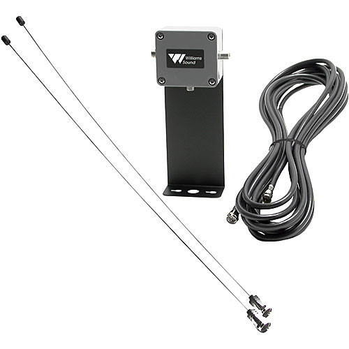 Williams Sound ANT024 - 75 Ohm Wall Mount Dipole Antenna for PPA